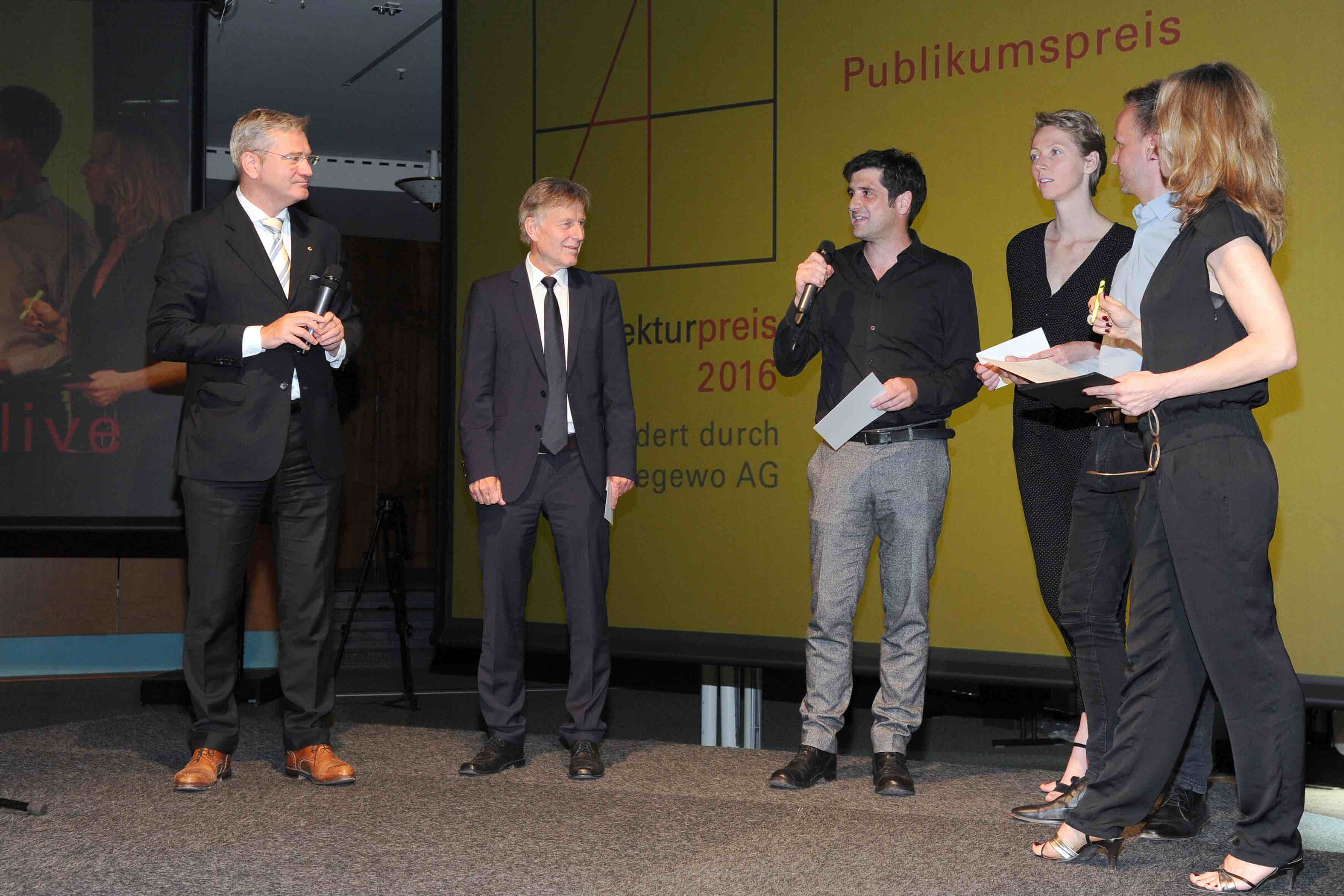 Preisverleihung Architekturpreis Berlin 2016